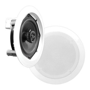 Pyle PDIC61RD In-Wall/In-Ceiling 6-1/2 Inch 2-Way Speakers