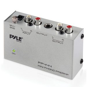 Pyle PP444 Ultra-Compact Phono Turntable Preamp
