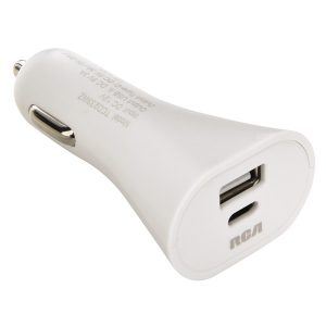 RCA TCD233WZ USB-C Car Charger