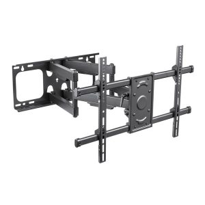 STANLEY THX-DDS6415FM 37-Inch to 80-Inch Extra-Large Full-Motion Dual-Arm TV Mount
