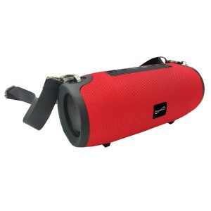 Supersonic SC-2327BT- Red Portable Bluetooth Speaker with True Wireless Technology (Red)