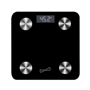 Supersonic SC-851BTS SMART SCALE Body Composition Analyzer with App
