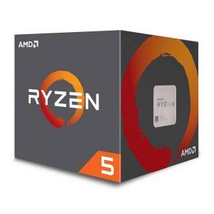 AMD Ryzen 5 1600 YD1600BBAFBOX Processor Six-Core 3.2GHz Socket AM4
