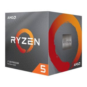 AMD Ryzen 5 3600XT 100-100000281BOX Processor Six-Core 3.8GHz Socket AM4