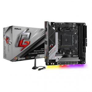 ASROCK B550 PHANTOM GAMING-ITX/AX Socket AM4/ AMD B550/ DDR4/ SATA3&USB3.2/ M.2/ WiFi&Bluetooth/ Mini ITX Motherboard