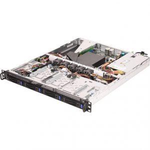ASRock Rack 1U4LW-X470 AM4 PGA 1331/ AMD Promontory X470/ DDR4/ V&2GbE 1U Rackmount Server Barebone System