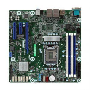 ASRock Rack C246M WS Intel C246/ DDR4/ SATA3&USB3.0/ V&2GbE/ MicroATX Server Motherboard