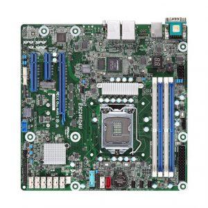 ASRock Rack E3C246D4U LGA1151/ Intel C246/ DDR4/ SATA3&USB3.0/ V&2GbE/ MicroATX Server Motherboard