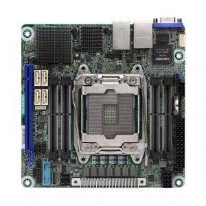 ASRock Rack X299 WSI/IPMI LGA 2066/ Intel X299/ DDR4/ SATA3&USB3.0/ V&2GbE/ Mini ITX Server Motherboard