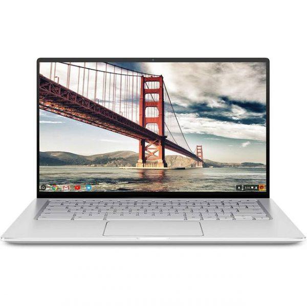 ASUS Chromebook Flip C434TA-DSM4T 14.0 inch Intel Core m3-8100Y 1.1GHz/ 4GB LPDDR3/ 64GB eMMC/ Chrome OS Notebook (Silver)