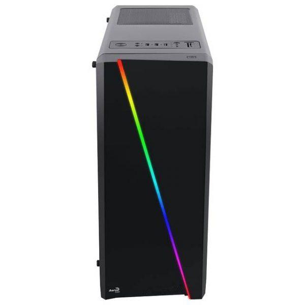 AeroCool CYLON RGB PV1021211 No Power Supply ATX Mid Tower w/ Window (Black)