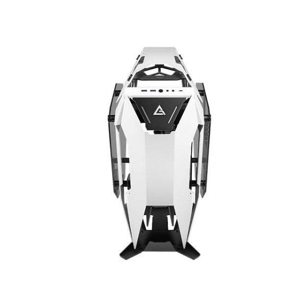 Antec TORQUE White / Black Aluminum ATX Mid Tower Computer Case/ Winner of iF Design Award 2019