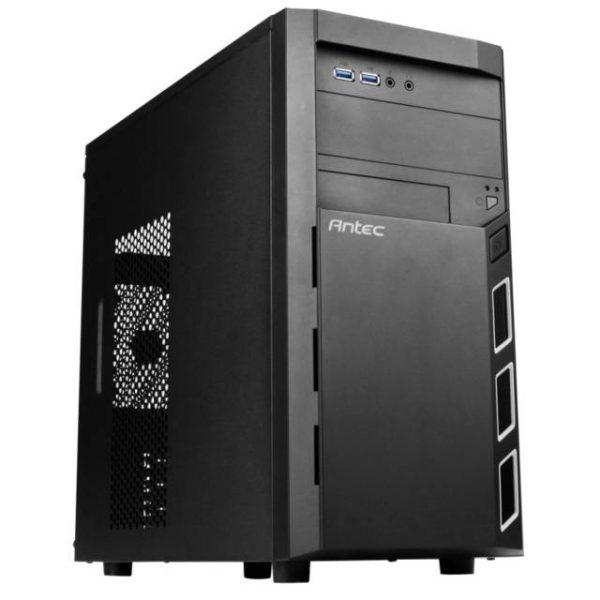 Antec VSK3000 ELITE No Power Supply MicroATX Case (Black)