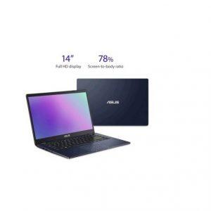 Asus L410MA-DB02 14 inch Intel Celeron N4020 1.1GHz/ 4GB DDR4/ 64GB eMMC/ USB3.2/ Windows 10 Home in S Mode Laptop (Star Black)