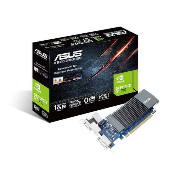 Asus NVIDIA GeForce GT 710 1GB GDDR5 VGA/DVI/HDMI PCI-Express Video Card