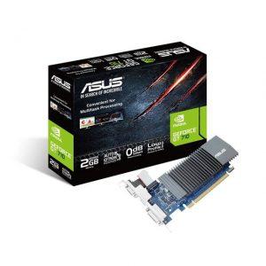 Asus NVIDIA GeForce GT 710 2GB GDDR5 VGA/DVI/HDMI PCI-Express Video Card