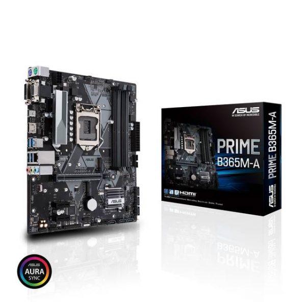Asus PRIME B365M-A LGA1151/ Intel B365/ DDR4/ SATA3&USB3.2/ M.2/ mATX Motherboard