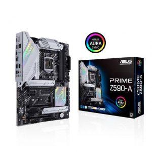 Asus PRIME Z590-A Socket 1200/ Intel Z590/ DDR4/ SATA3&USB3.2/ M.2/ ATX Motherboard