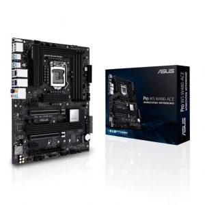 Asus PRO WS W480-ACE LGA1200/ Intel W480/ DDR4/ 3-Way CrossFireX/ SATA3&USB3.2/ M.2/ ATX Motherboard