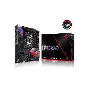 Asus ROG RAMPAGE VI EXTREME ENCORE LGA2066/ Intel X299/ DDR4/ 3-Way CrossFireX & 3-Way SLI/ SATA3&USB3.2/ M.2/ WiFi+Bluetooth/ A&GbE/ E-ATX Motherboard