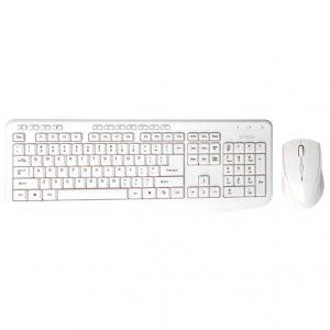 Bornd M610 Wireless Keyboard & Mouse Combo (White)