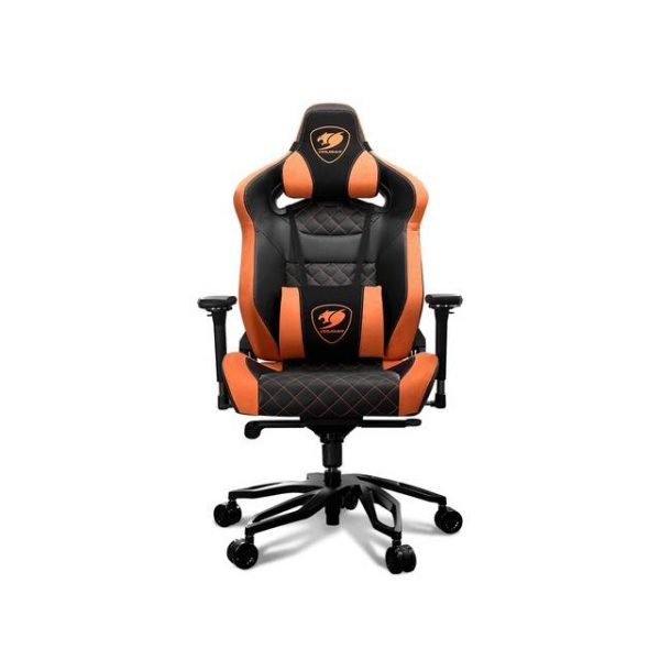 COUGAR ARMOR TITAN PRO (3MTITANS.0001) 170 Degree Continuous Reclining with Full Steel Frame 160 kg Capacity Gaming Chair (Orange)