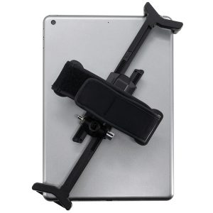 CTA Digital PAD-ATGL2 Adjustable Anti-Theft Security Grip with Hand Strap for Tablet