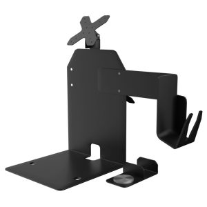 CTA Digital PAD-CHKS2 VESA Dual Plate POS Station with Printer Stand