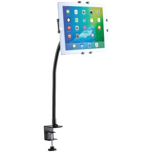 CTA Digital PAD-GCM Gooseneck Clamp Mount for iPad/Tablet