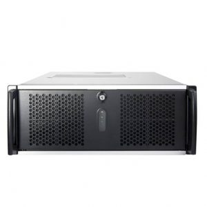Chenbro RM41300-F1 No Power Supply 4U Open-bay Rackmount Server Chassis w/ 1x Door
