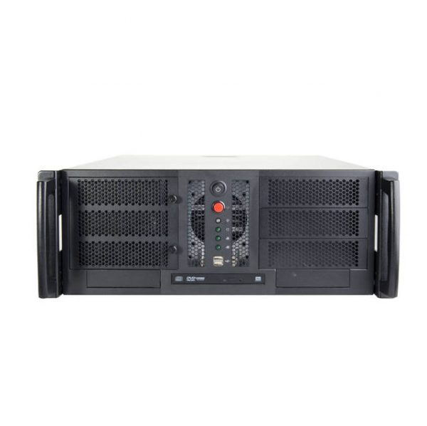 Chenbro RM41300 No Power Supply 4U Open-bay Rackmount Server Chassis w/ 2x ODD Cages