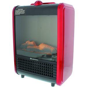 Comfort Zone CZFP1-EC Mini Electric Fireplace