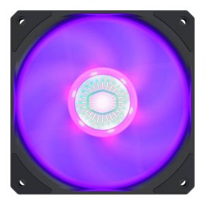 Cooler Master MFX-B2DN-18NPC-R1 SickleFlow 120 V2 RGB Square Frame Fan with Customizable LEDS