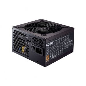 Cooler Master MWE Bronze 600 MPX-6001-ACAAB-US 600W 80 PLUS Bronze ATX 12V V2.31 Power Supply