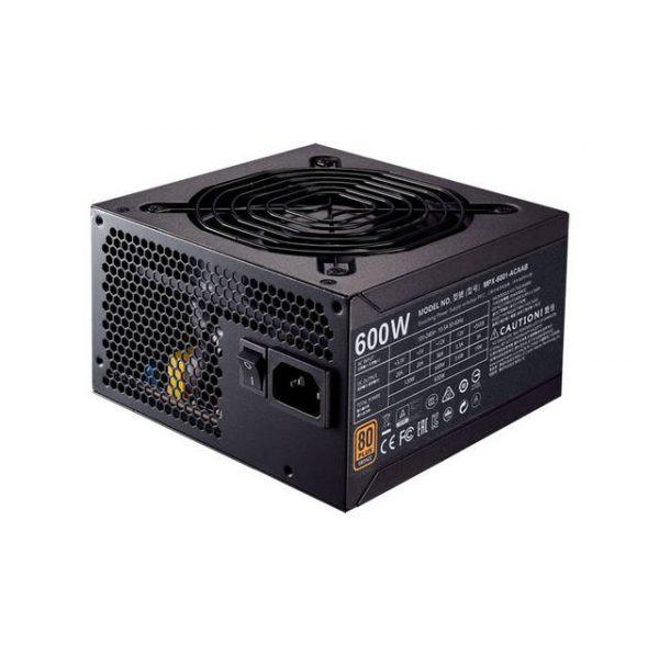Cooler Master MWE Bronze 600 MPX-6001-ACAAB-US 600W 80 PLUS Bronze ATX 12V V2.31 Power Supply