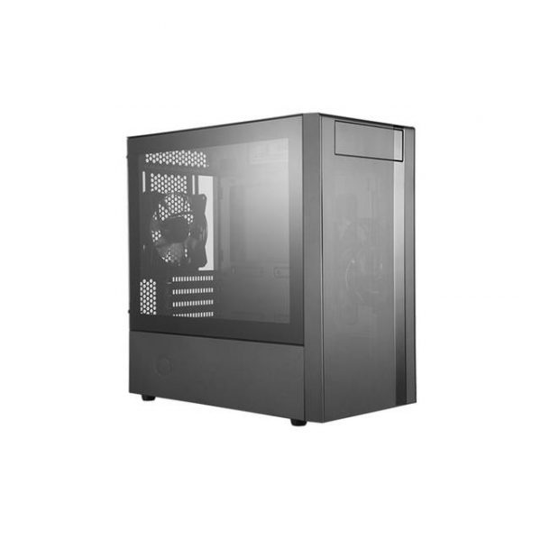 Cooler Master MasterBox NR400 No Power Supply MicroATX Mid Tower Case w/ Window