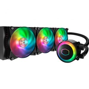 Cooler Master MasterLiquid ML360R RGB Liquid Cooler for LGA 2066/ 2011-v3/2011/1156/1151/1150/1366/775 & AMD Socket AM4/AM3+/AM3/AM2+/AM2/FM2+/FM2/FM1