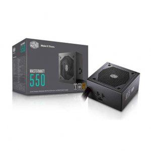 Cooler Master Masterwatt MPX-5501-AMAAB-US 550W 80 PLUS Bronze ATX 12V V2.4 Power Supply