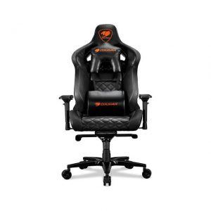 Cougar Armor Titan (Black) ultimate gaming chair with premium breathable pvc leather