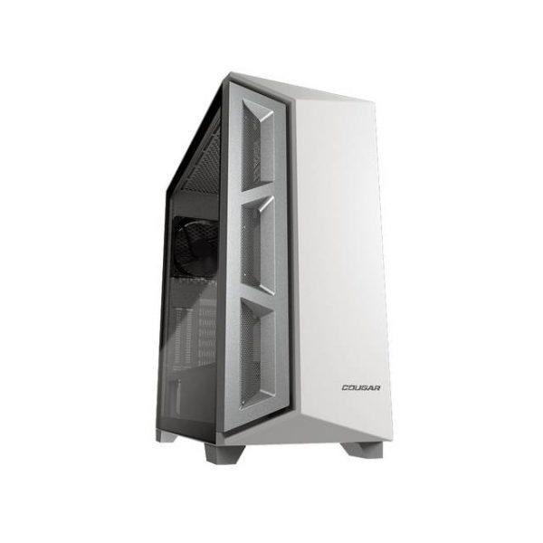 Cougar DarkBlader X5 White (385UM30.002) No Power Supply Mid Tower Case w/ Window (White)