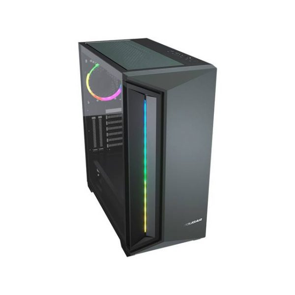 Cougar DarkBlader X7 Midnight Green No Power Supply RGB Mid Tower Case w/ Window (Midnight Green)