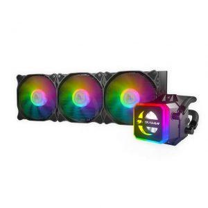 Cougar Helor 360 RGB CPU Aluminum Cooling Kit w/ 3 Fans 360mm