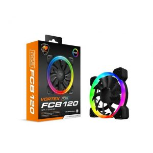 Cougar Hydraulic Vortex RGB FCB 120 mm Cooling Fan