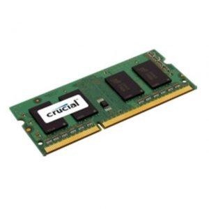 Crucial DDR3-1600 SODIMM 8GB Notebook Memory