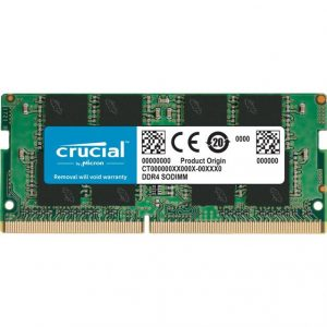 Crucial DDR4-2666 SODIMM 16GB/2Gx64 CL19 Notebook Memory