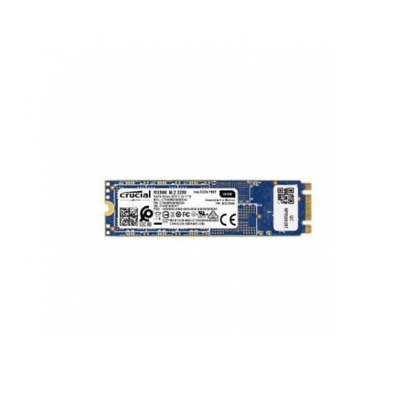 Crucial MX500 500GB M.2 2280 Solid State Drive (Micron 3D TLC NAND)