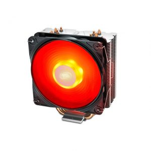 DEEPCOOL GAMMAXX 400 V2 RED CPU Cooler 4 Heatpipes 120mm PWM Fan with Red LED Universal socket solution