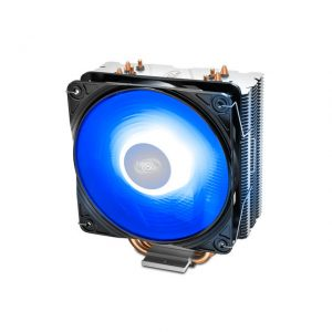 DEEPCOOL GGAMMAXX 400 V2 BLUE CPU Cooler 4 Heatpipes 120mm PWM Fan with Blue LED Universal socket solution
