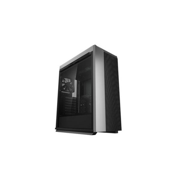 DeepCool CL500 Mid-Tower ATX Case High Airflow Mesh Front Panel I/O USB Type-C port Tempered Glass Magnetic Side Panel Built-In Fan Hub and Graphics Card holder