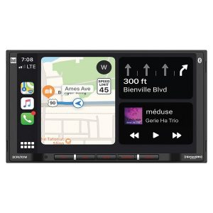 Dual DCPA701 7-Inch Double-DIN In-Dash Digital Media Receiver with Bluetooth